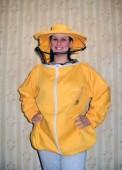 Pčelarska bluza - keper u boji (100% pamuk), šešir se može odvojiti od bluze radi lakšeg održavanja i mogućnosti pranja donjeg dela, a prednji deo se može raskopčati radi lakšeg oblačenja