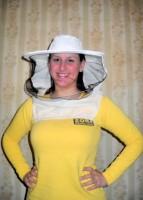 Pčelarski šešir, specijal - Prirodno sirovo platno
