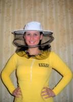 Pčelarski šešir, til - Prirodno sirovo platno